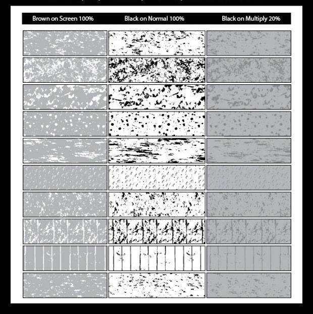 Unique Seamless Grunge Pattern