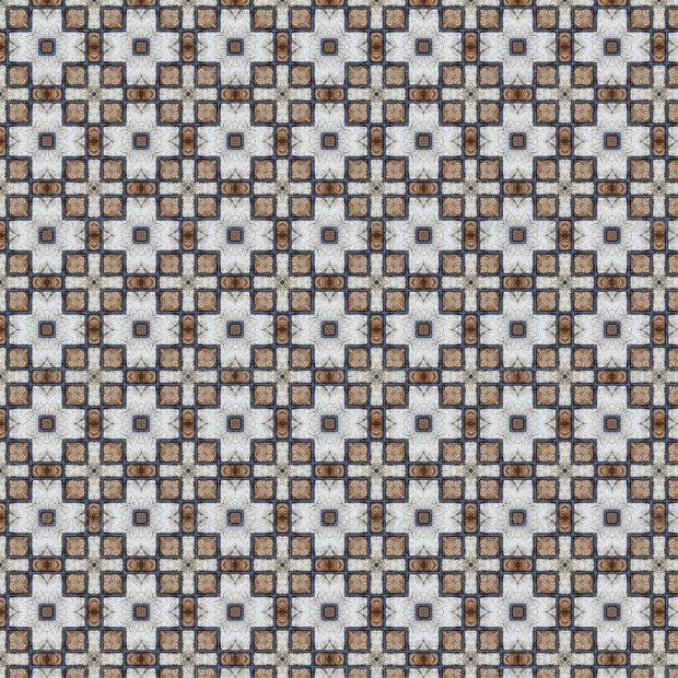 grunge ceramic seamless pattern