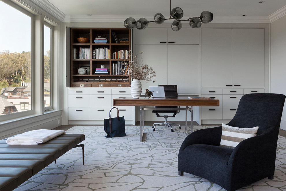 Stylish Home Office In San Francisco