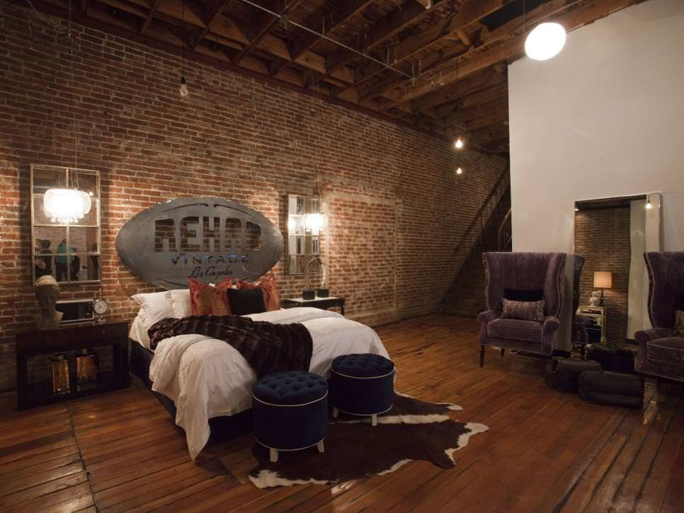 23 brick wall designs decor ideas for bedroom design for Bedroom mural designs