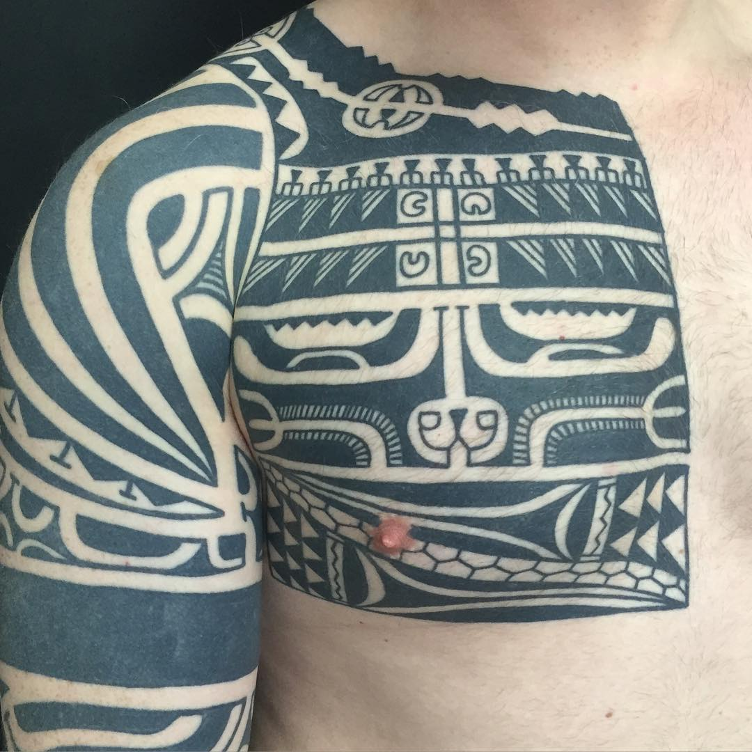 marquesan tribal tattoo