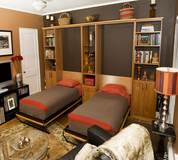 Eclectic Twin Bed Designs