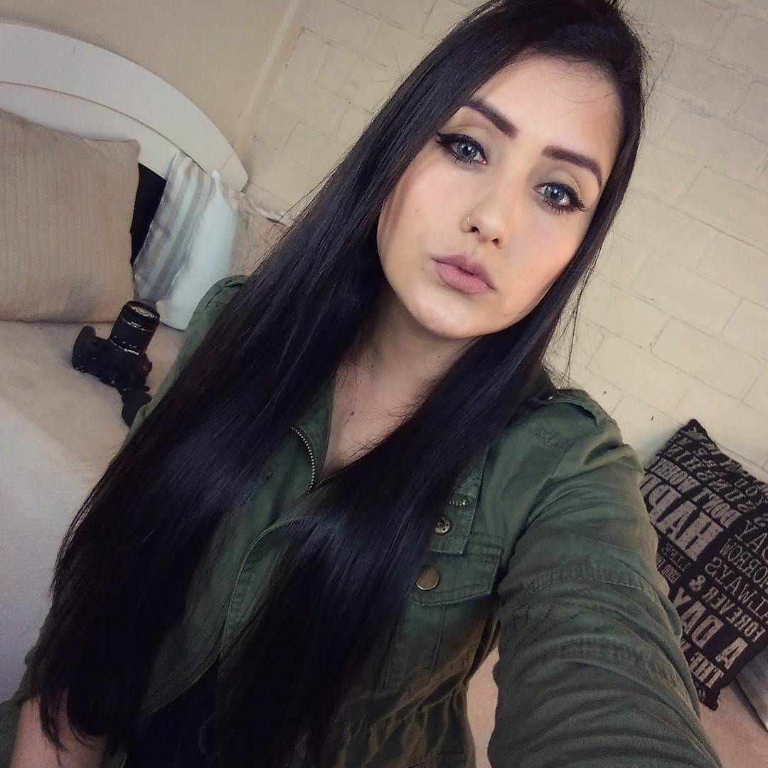 Black Silky Hair