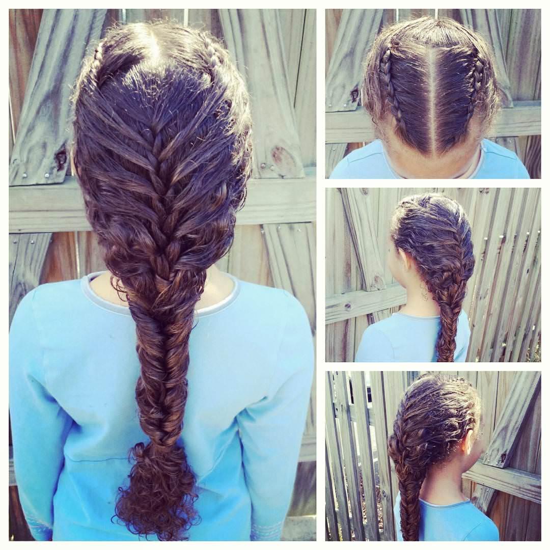 Curl Dutch Braid