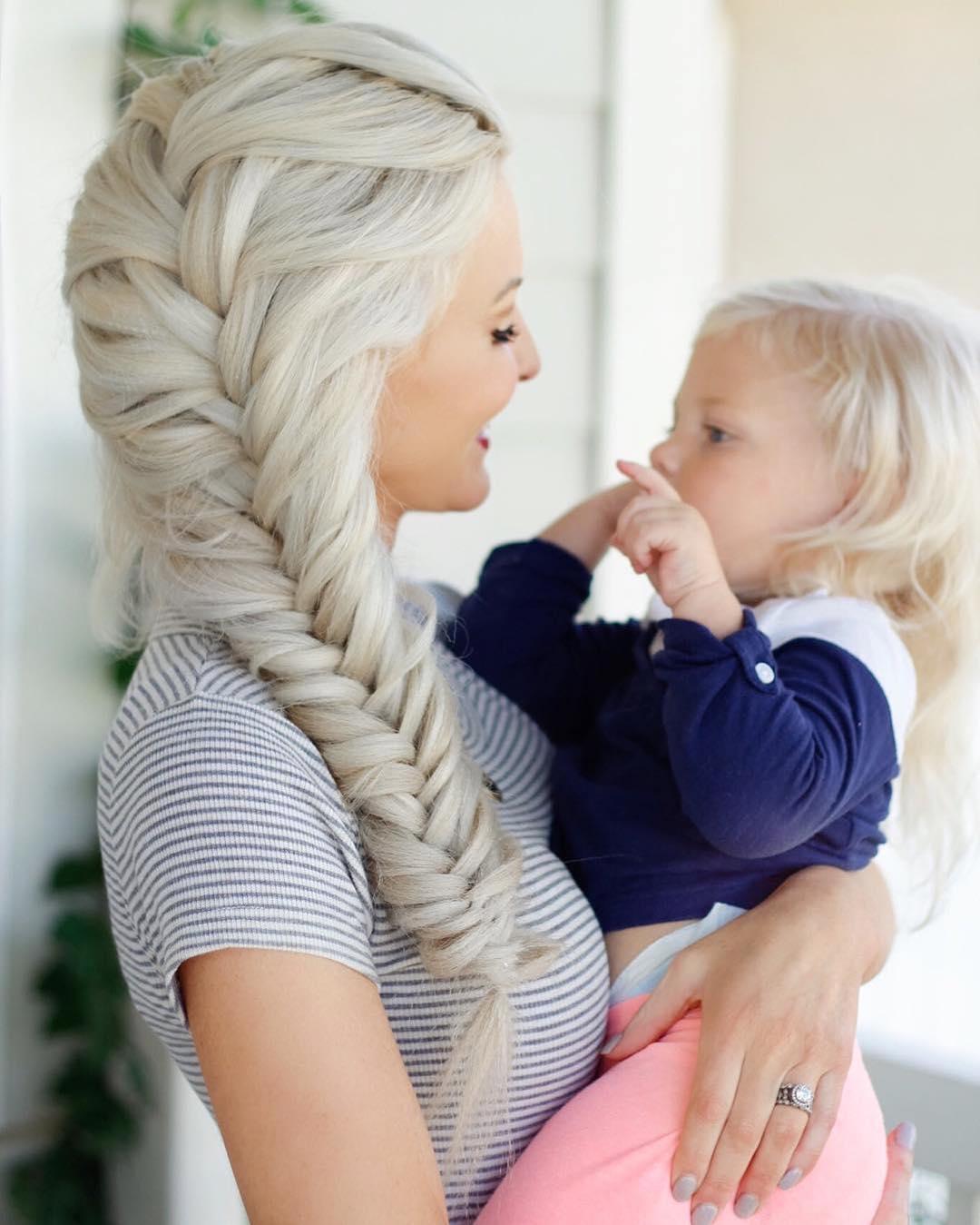 Amazing Long White Hairstyle