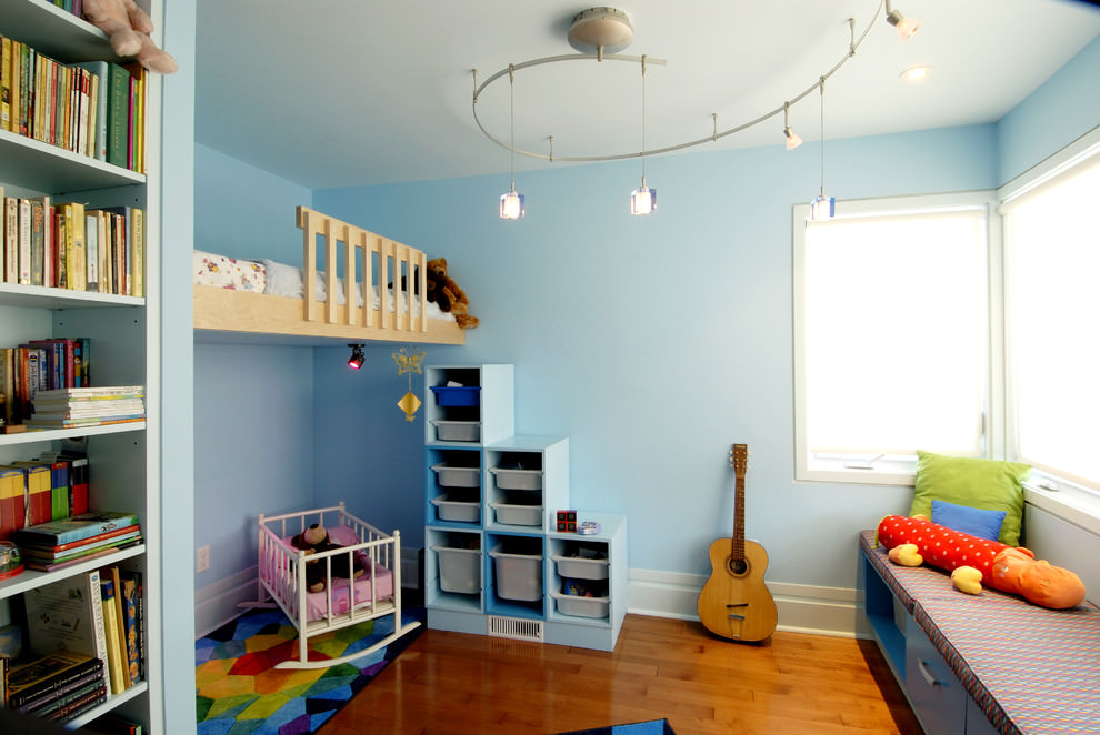 7 Inspiring Kid Room Color Options For Your Little Ones: 23+ Kid's Room Lightning Designs, Decorating Ideas