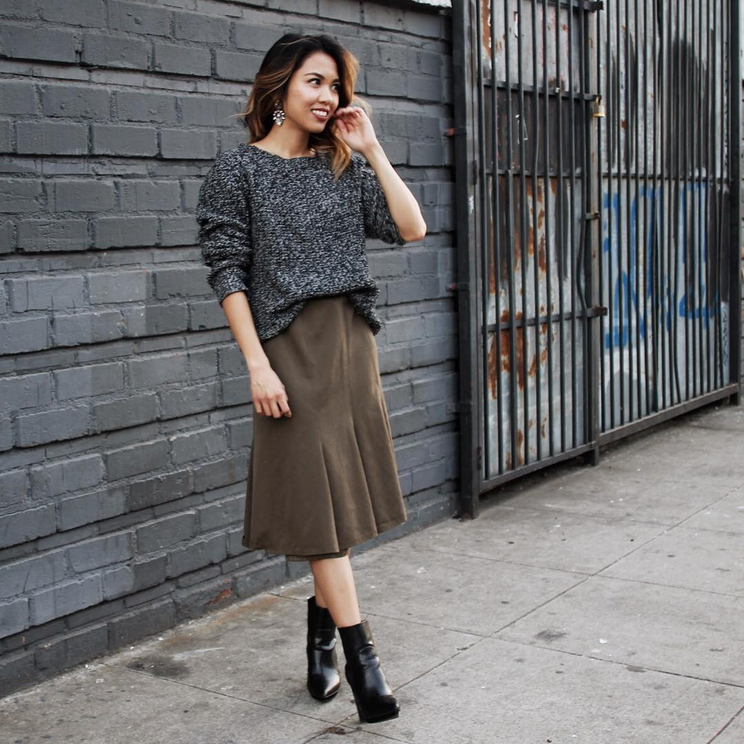 Adorable Midi Skirt