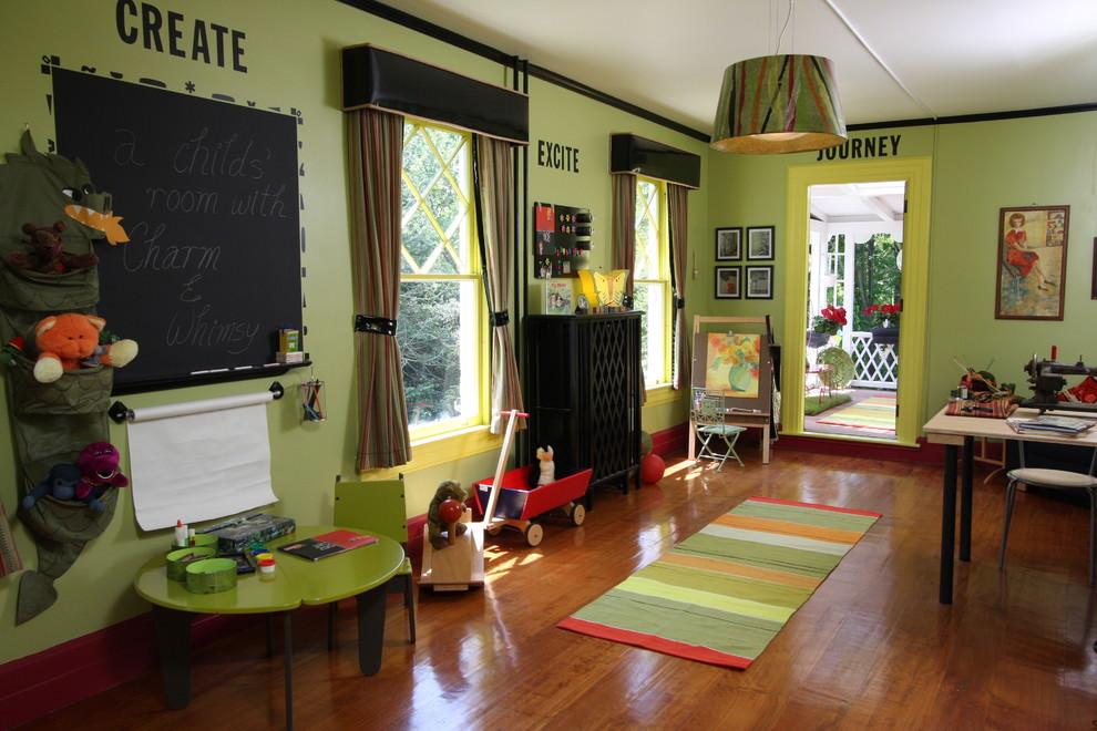Simple Kids Room Lighting Design