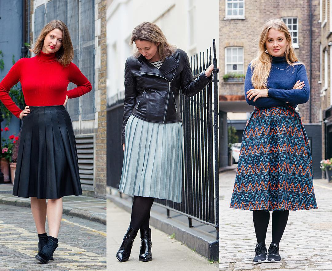 Latest Trend Midi Skirts