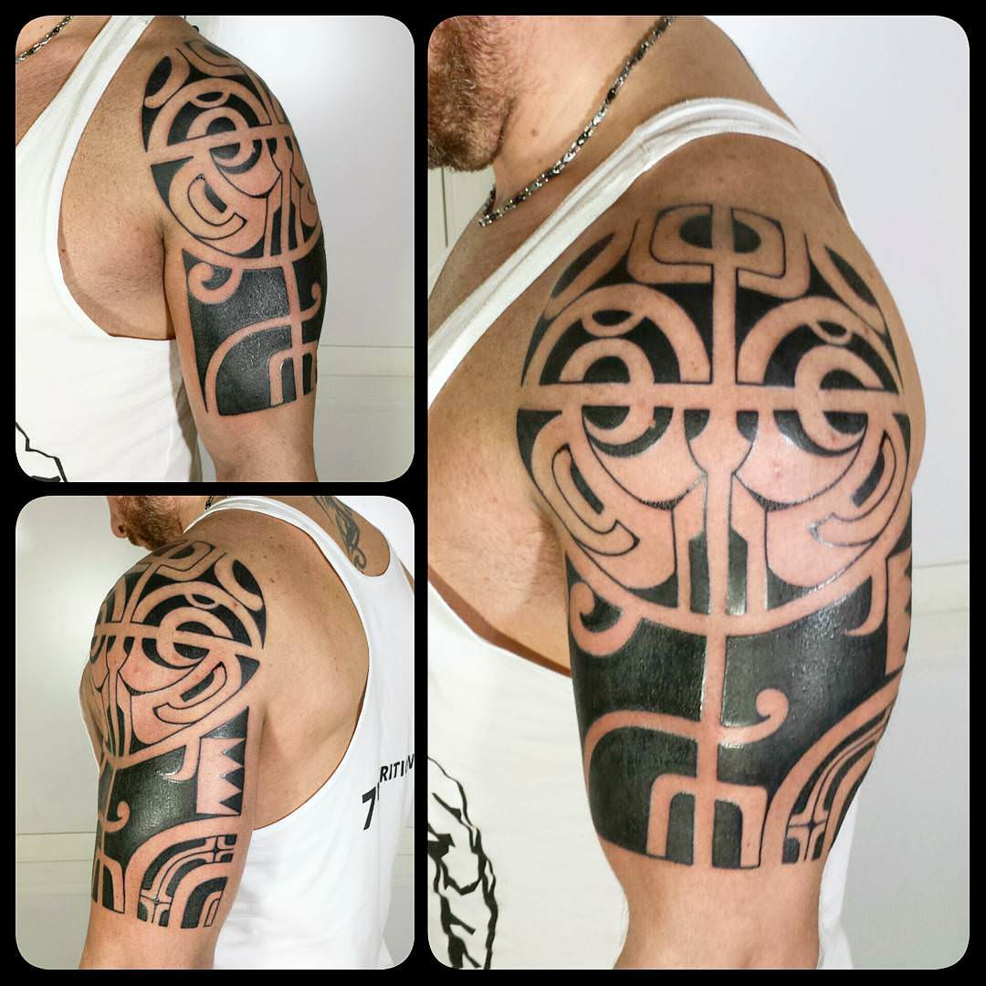 Awesome Tribal Tattoo