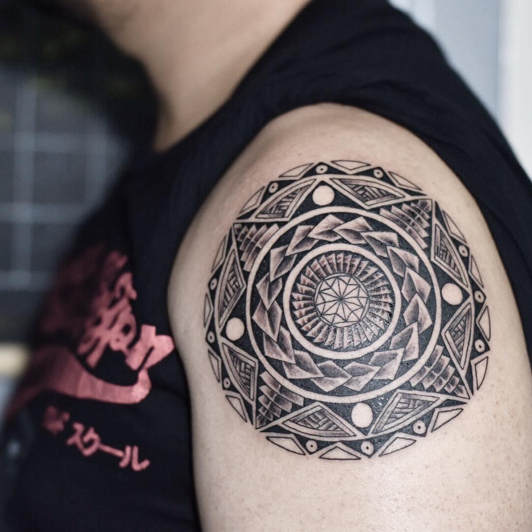 Black Tattoo Art