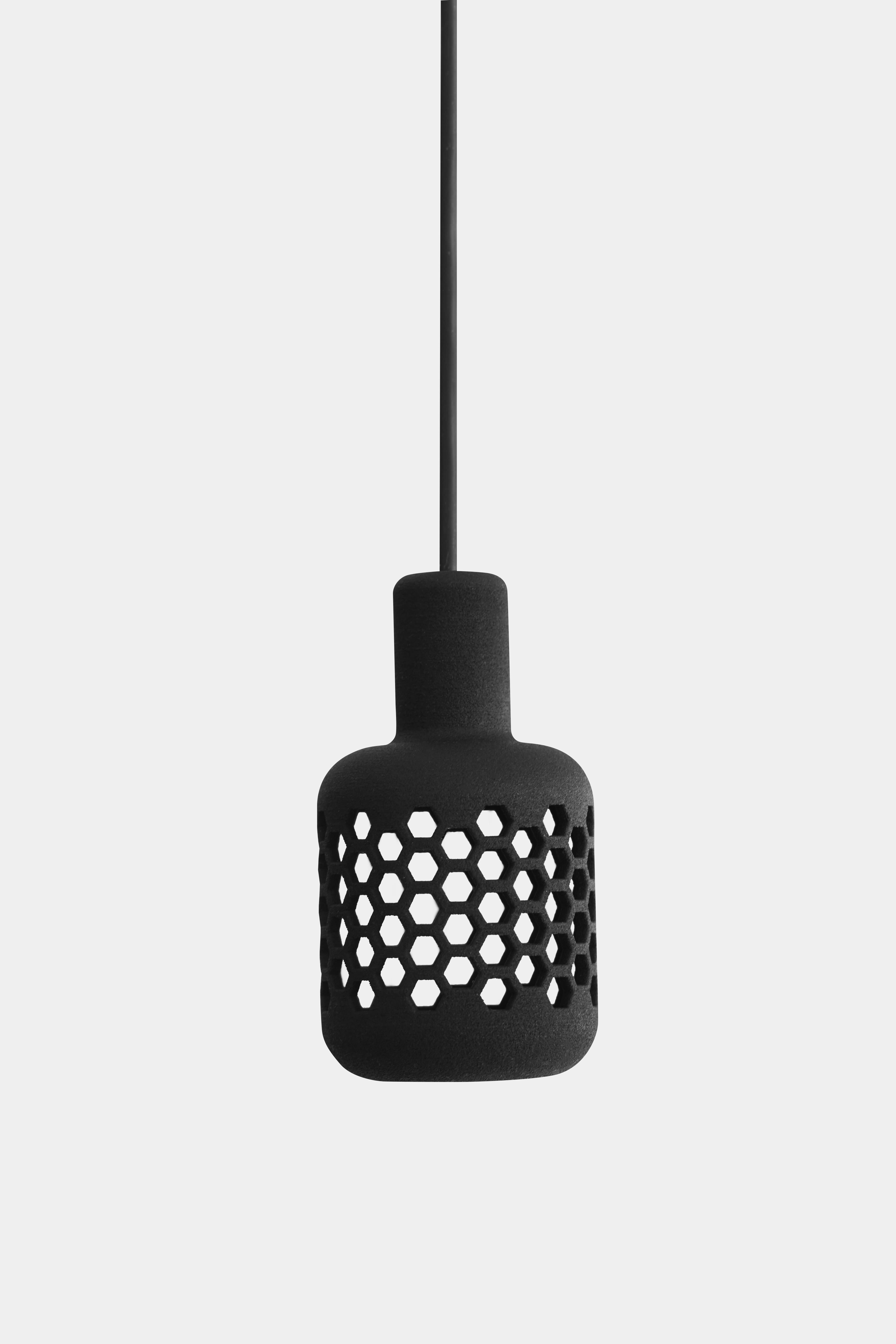 mikrofon lamp black 011
