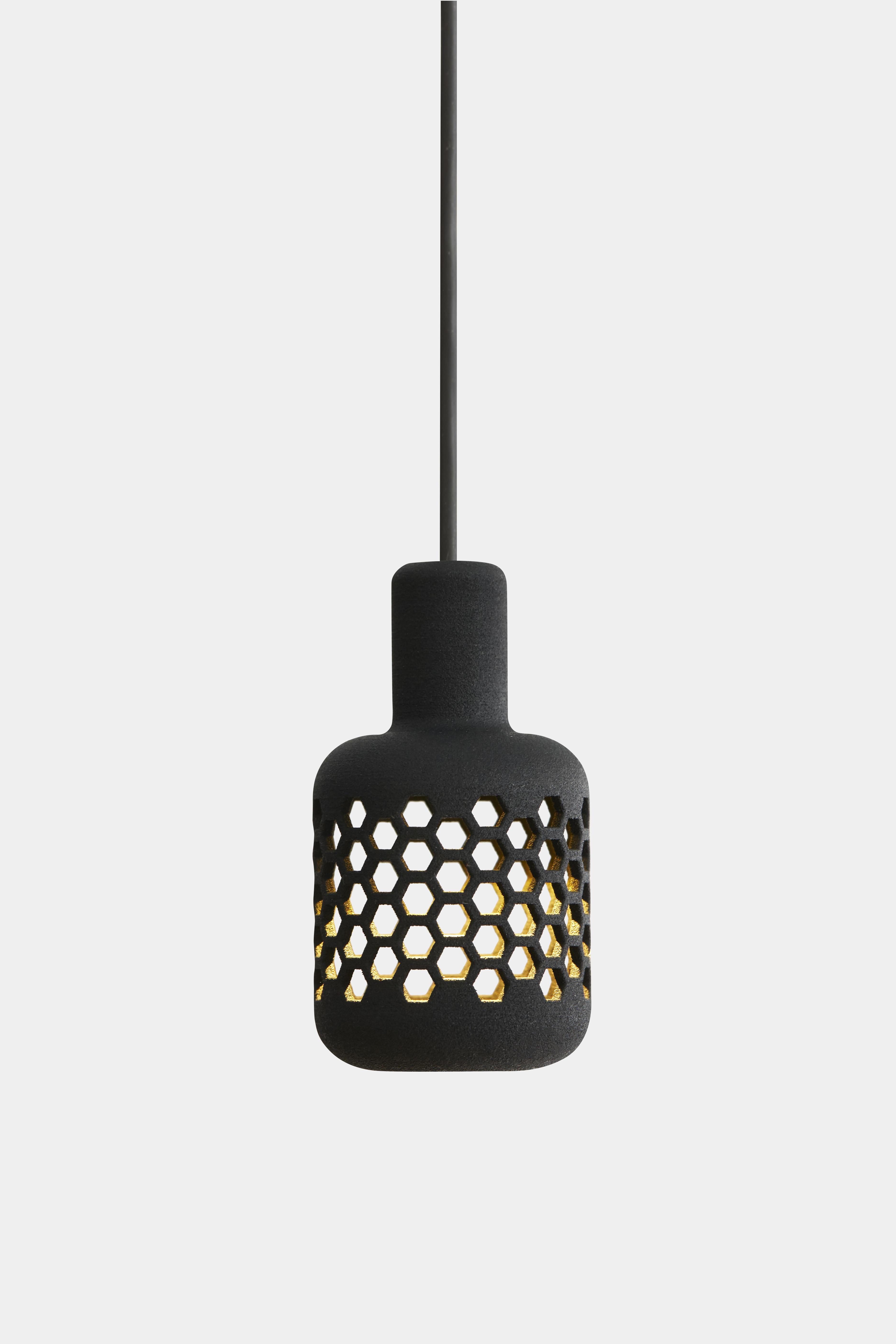 mikrofon lamp black 021