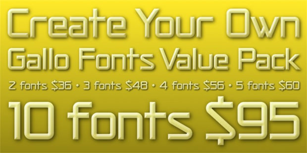 calender font