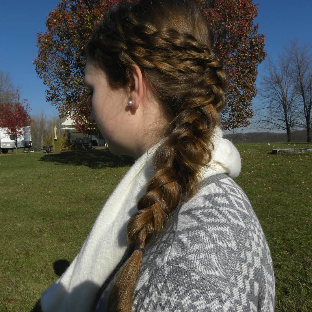 Simple Fishtail Braid
