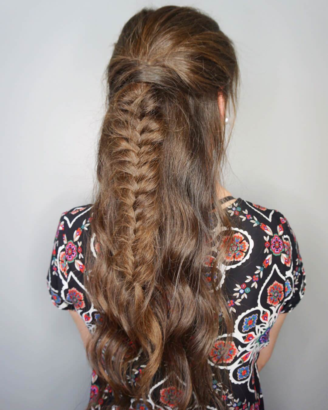 Trendy Fishtail Braid