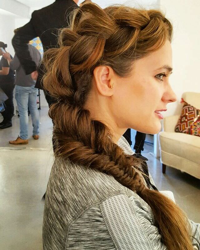 Nice Fishtail Braid