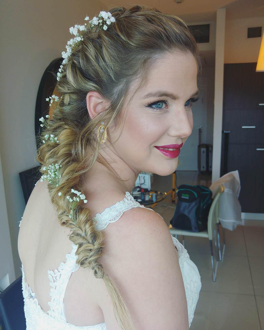 beautiful nice fishtail braid