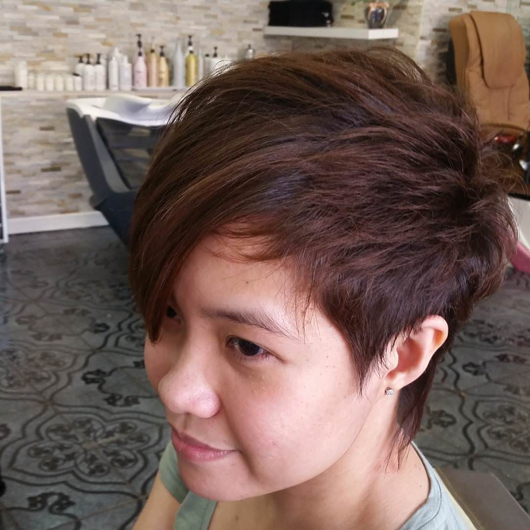 short crazy hairstyle