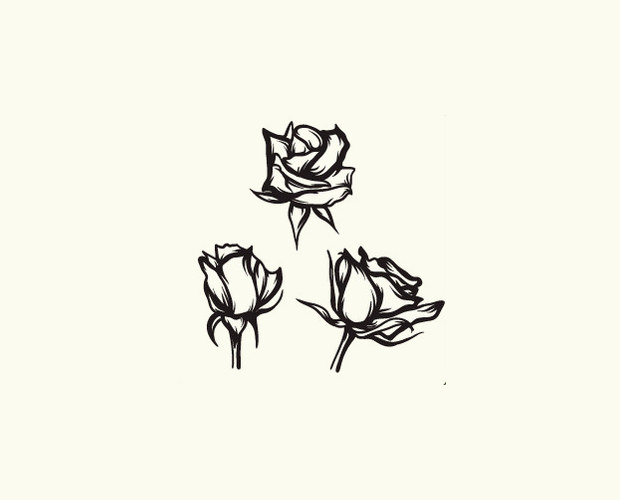 vintage roses vectors