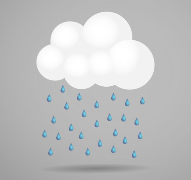 Strom Cloud Vector