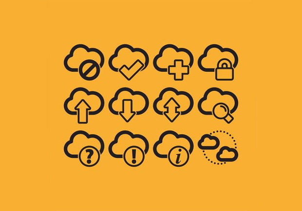 Cloud Computing Icon Vectors