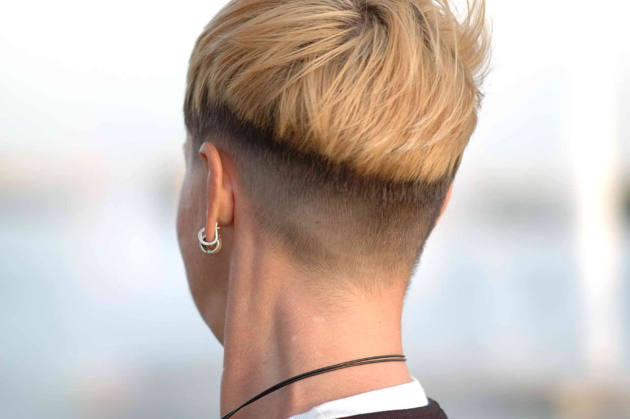 Classy Back Trimmed Hair