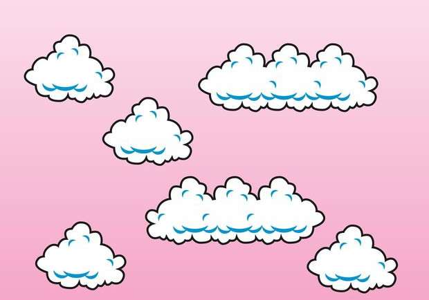 Beautiful Vector Design of Cloud