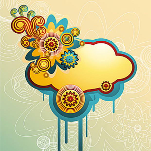 Cloud in .eps Vector File Formate