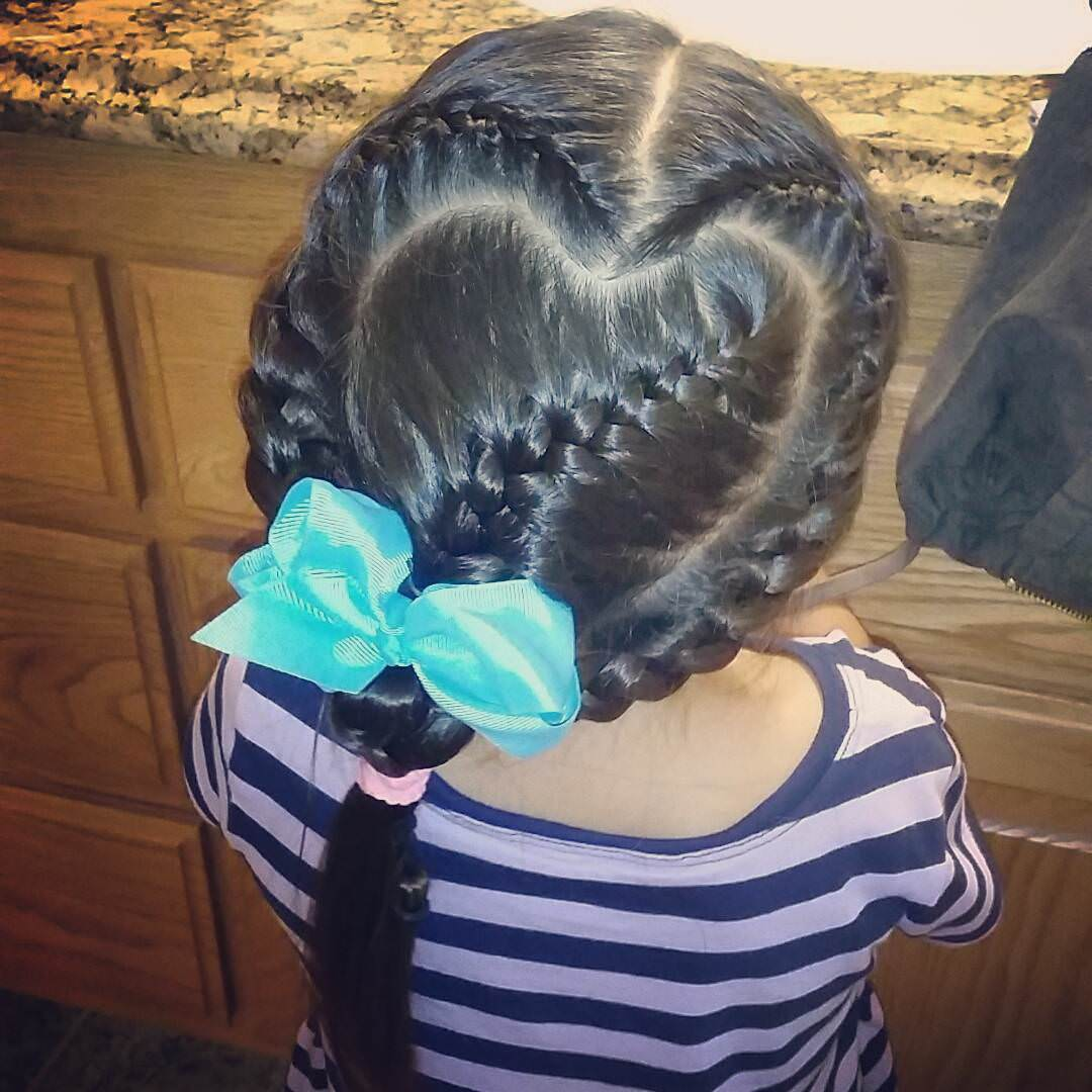 Love & Trendy Little Girl Hairstyle