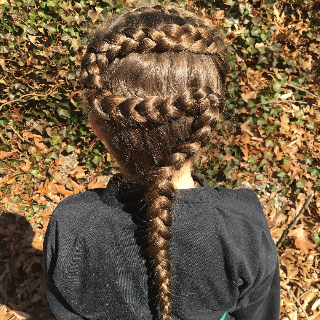 Snake - Little Girl Hairstyle