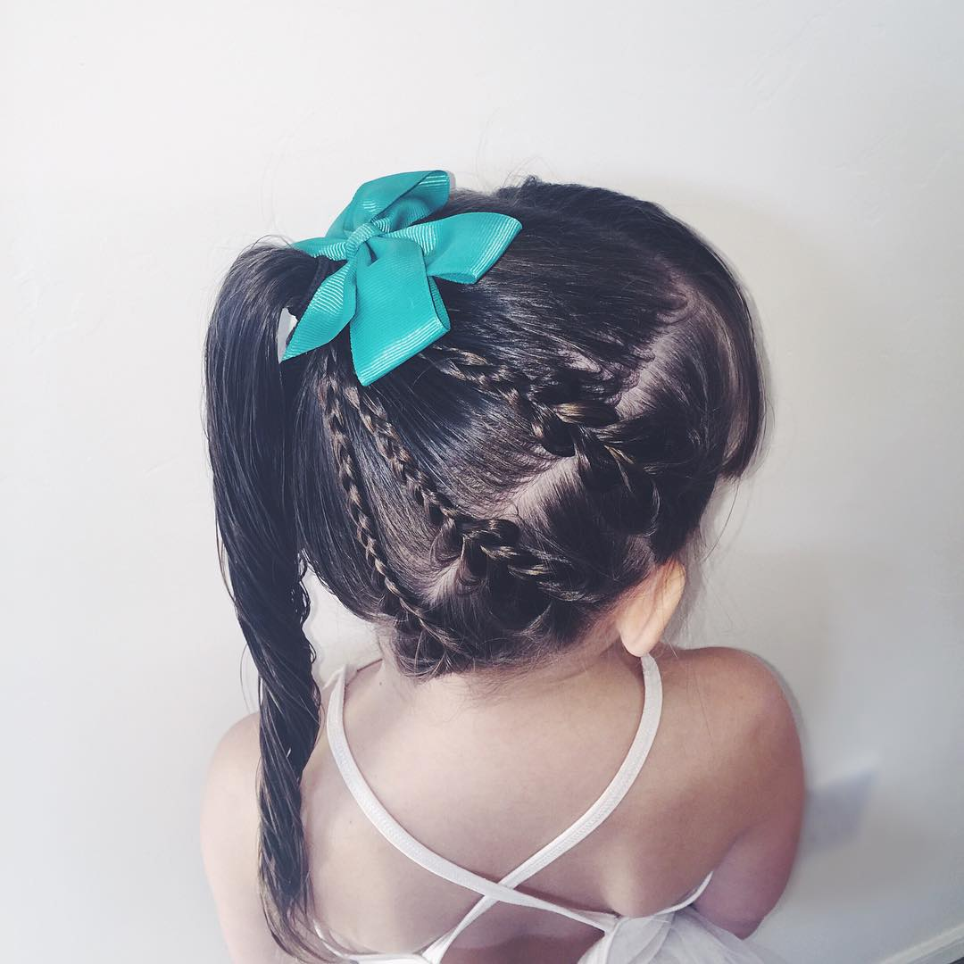 Awesome Little Girl Hairstyle