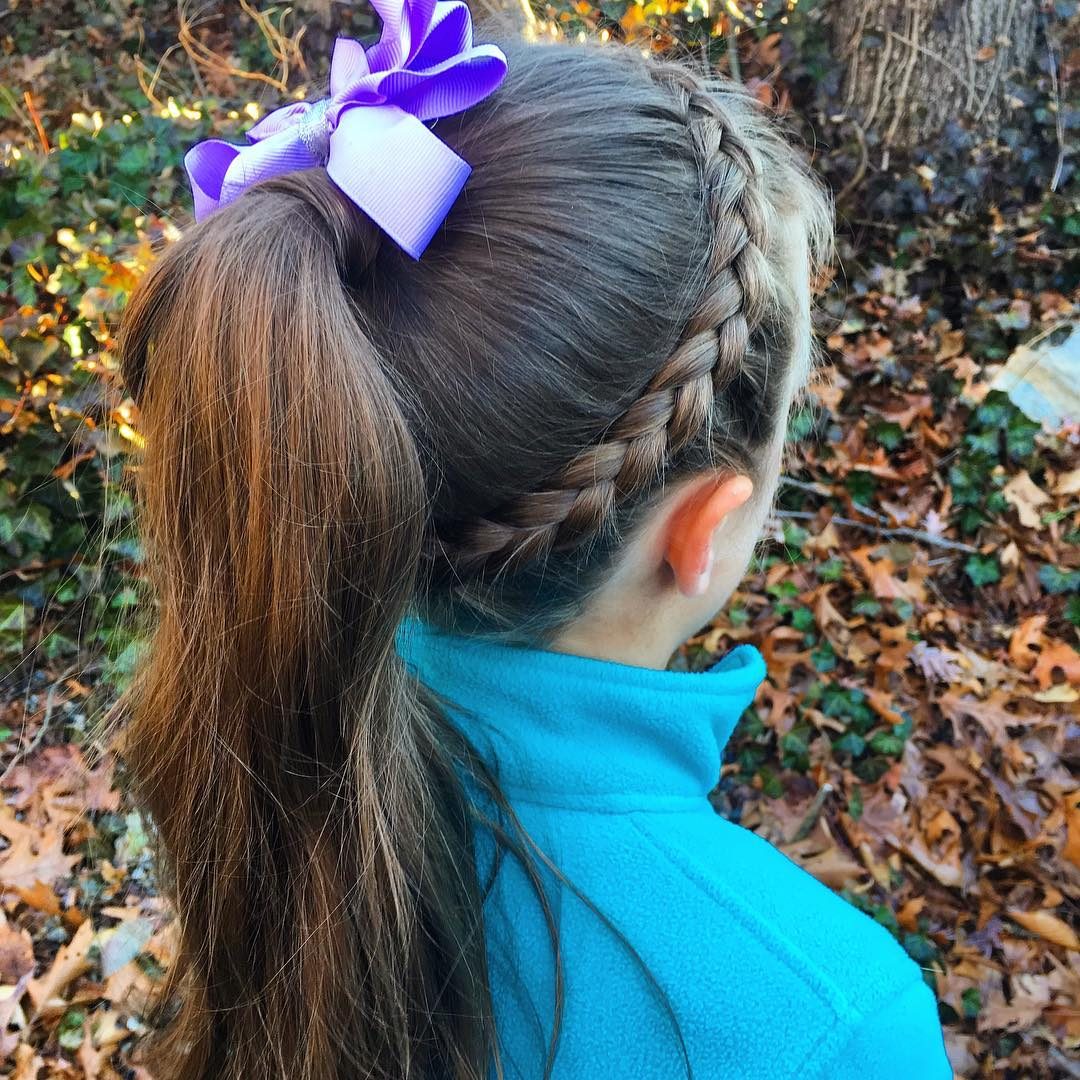 Classy Little Girl Hairstyle