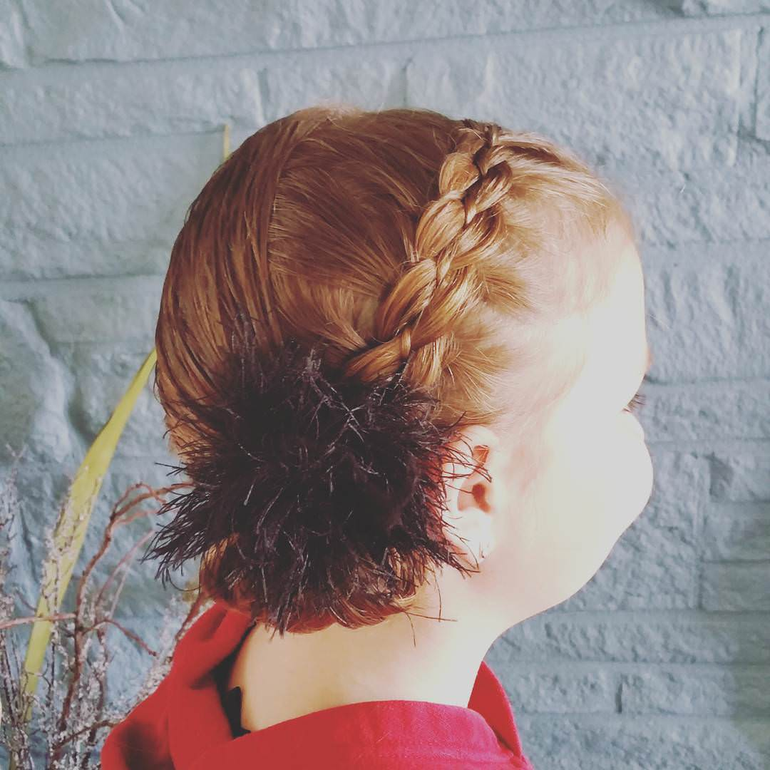 Attractive Little Girl Hairstyle