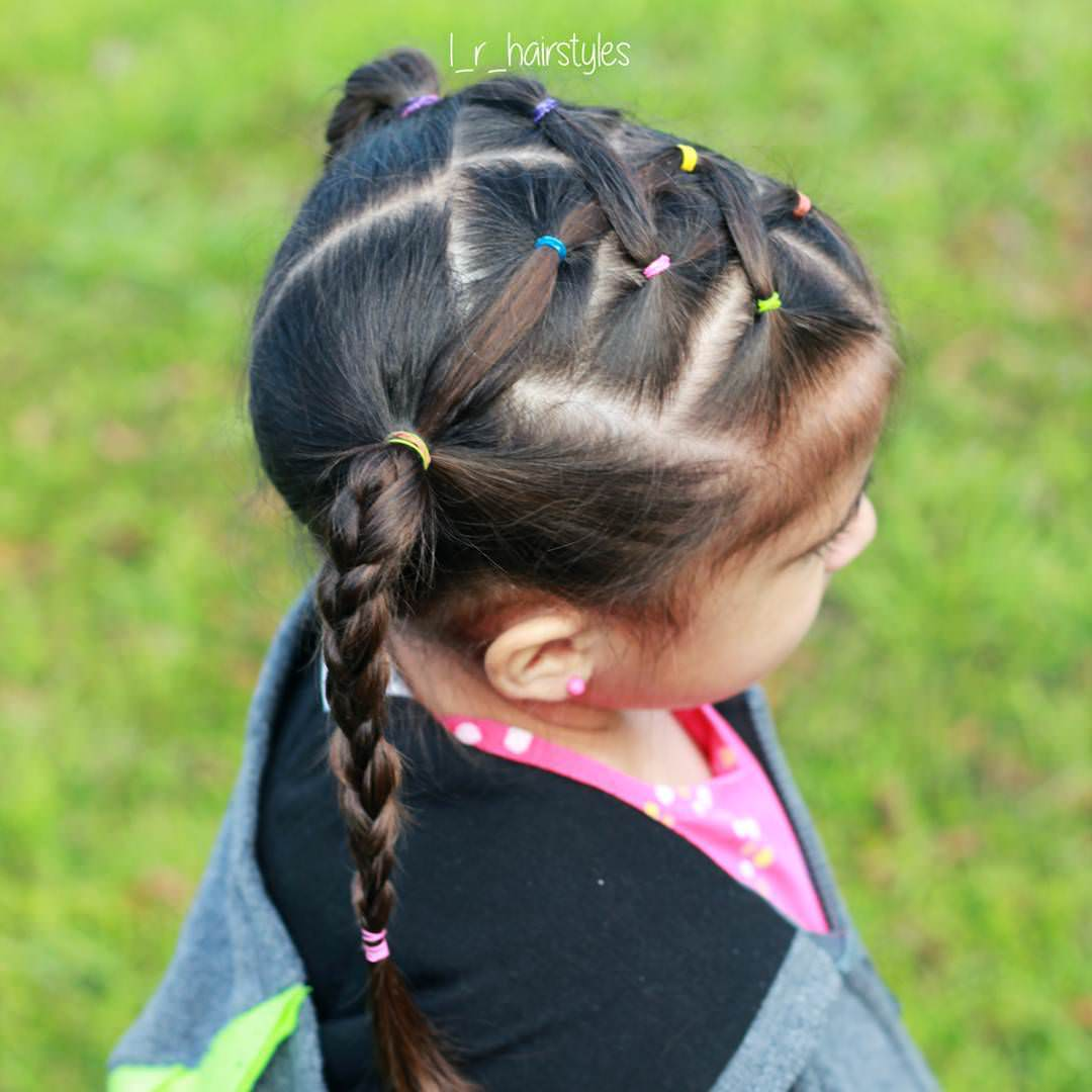 Modern Little Girl Hairstyle