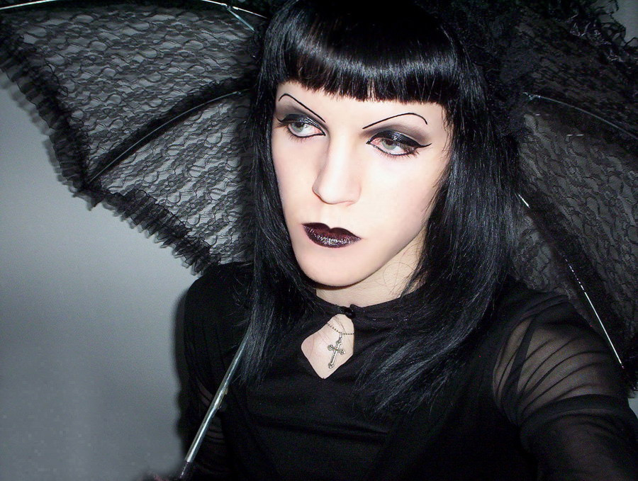 Elegant Hairdesign of Gothic