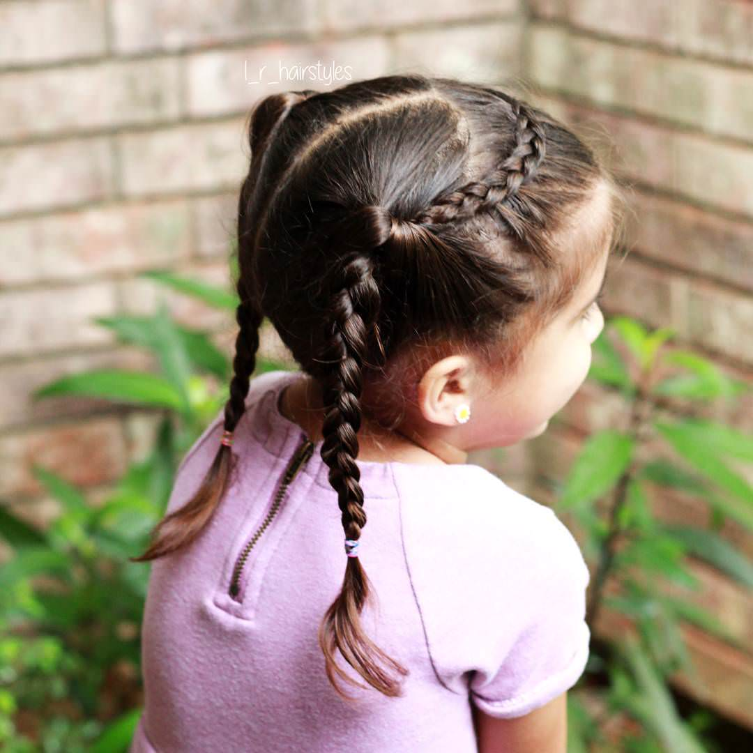 Nice Looking Little Girl Hairstyle