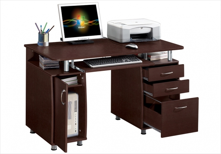 20 contemporary office desk designs decorating ideas for Simple office design