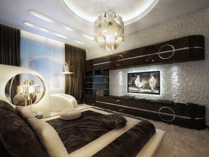Modish Bedroom Ceiling Design