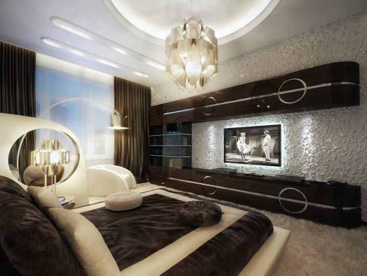 modish bedroom ceiling design