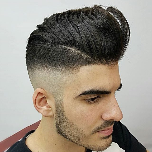 Shining Mohawk Hairstyle for Men