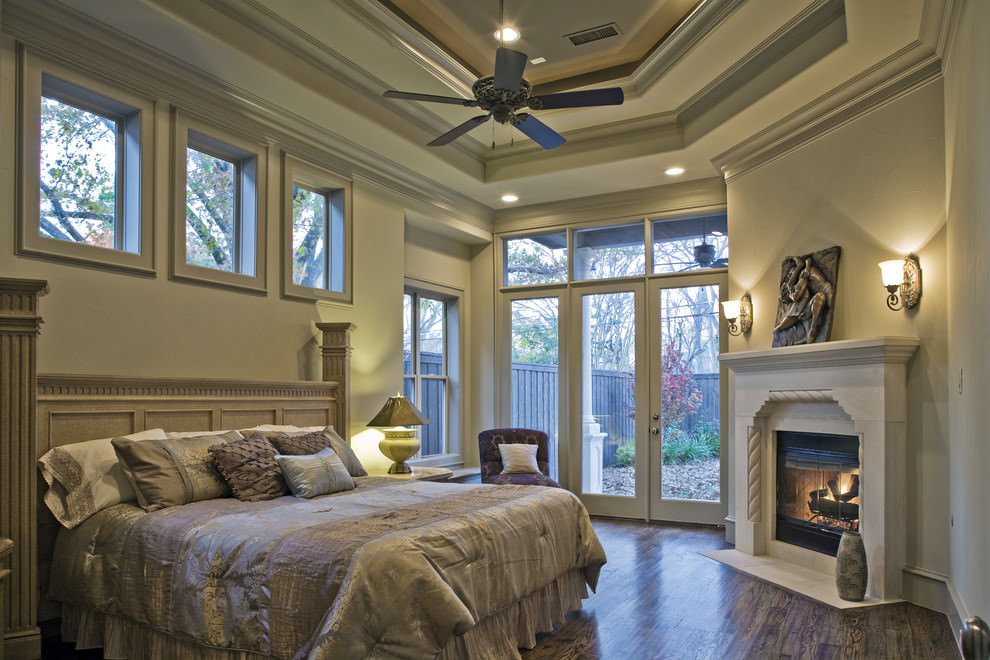 Contemporary Bedroom Roof Ideas