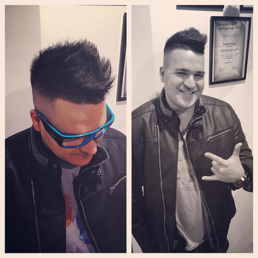 new look mohawk hairstyle for men