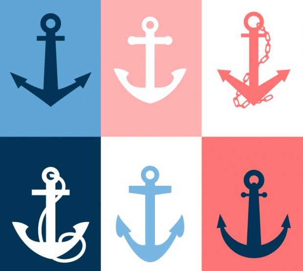 icons of anchor vectors