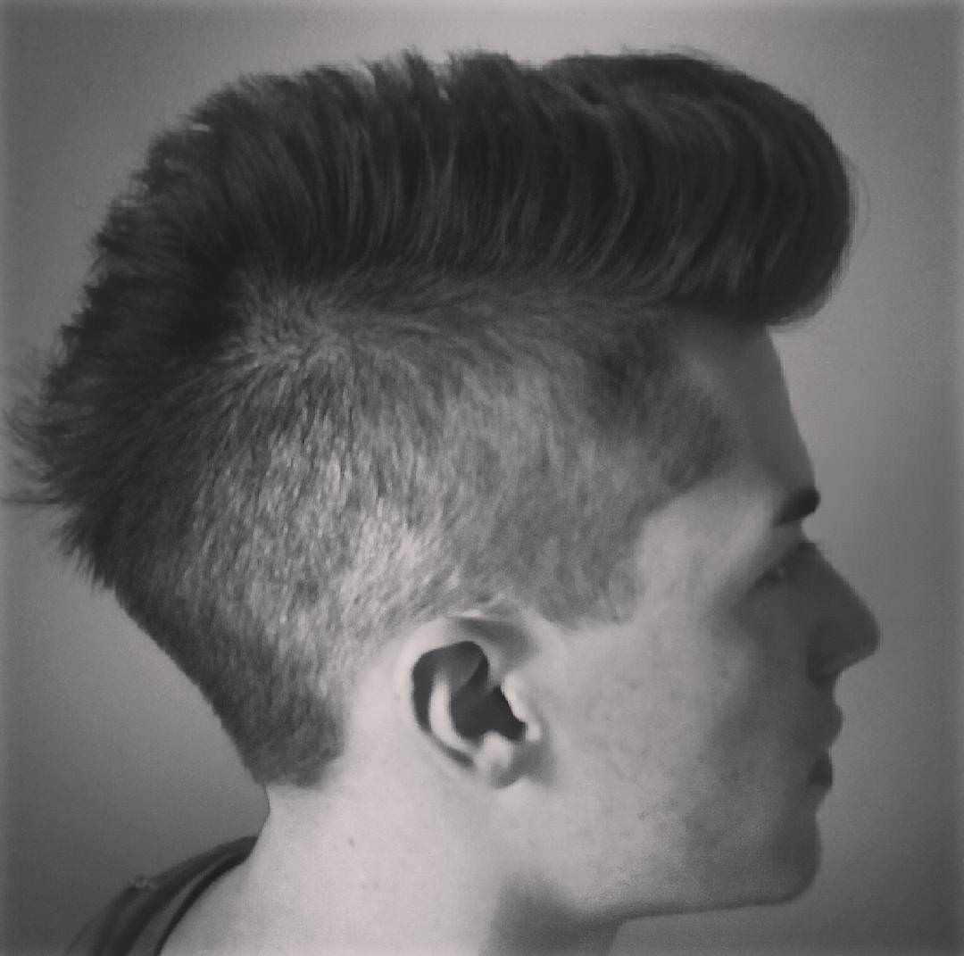 modern look mohawk hairstyle for men