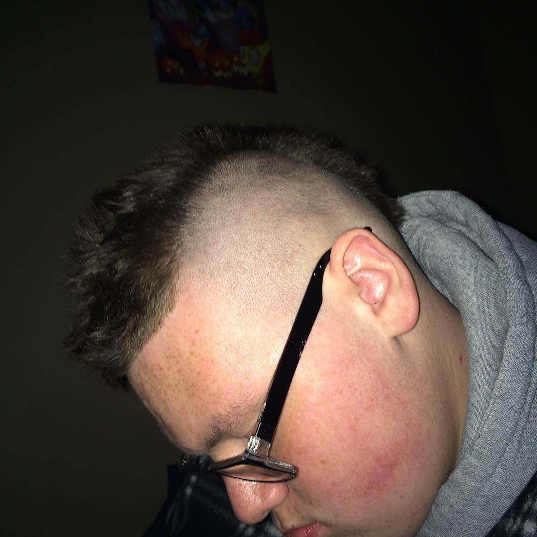 Short & Trendy Mohawk Hairstyle for Men