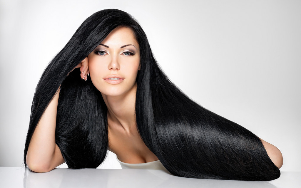 awesome black straight hair