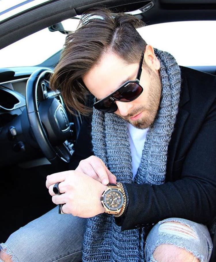 modern fashion hairstyle for men