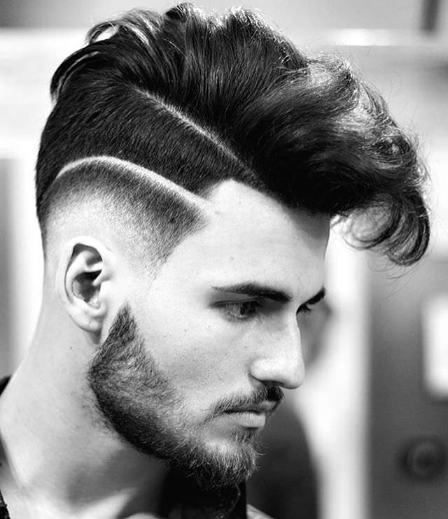 Posh Mohawk Hairstyle Fo Men