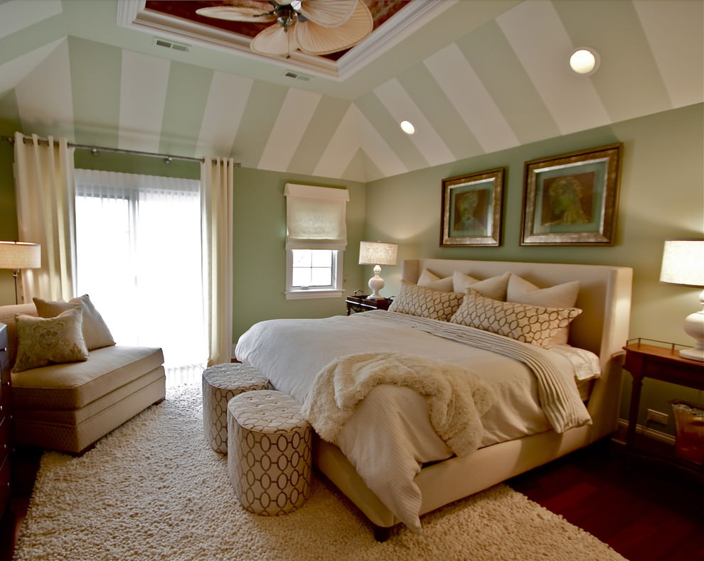 Stunning Bedroom Roof Design